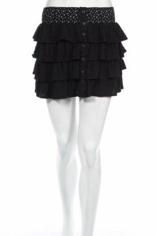 Φούστα Cache Cache, Μέγεθος XS, Χρώμα Μαύρο, 95% βισκόζη, 5% ελαστάνη, Τιμή 4,07€