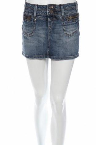 Φούστα Lyla Lyla, Μέγεθος S, Χρώμα Μπλέ, 98% βαμβάκι, 2% ελαστάνη, Τιμή 2,16€