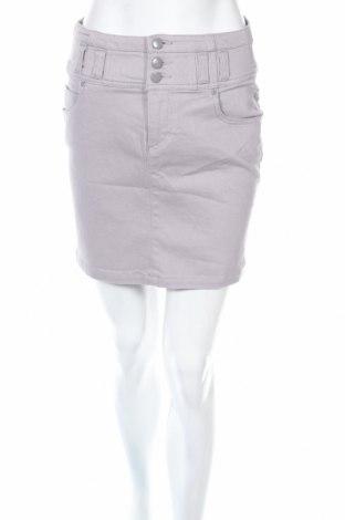 Пола Yes Or No, Размер S, Цвят Сив, 98% памук, 2% еластан, Цена 4,25лв.