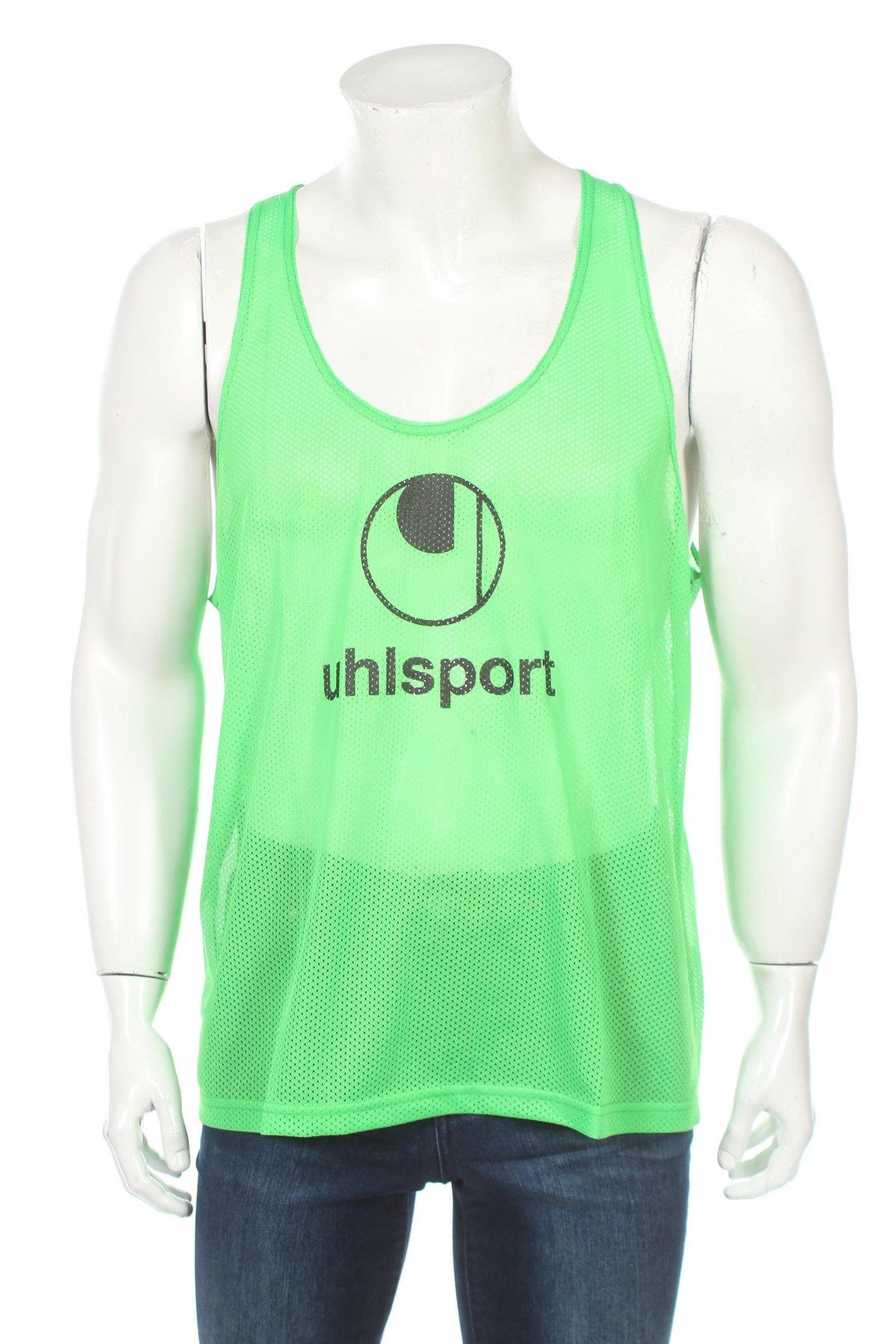 Мъжки потник Uhlsport, Размер XL, Цвят Зелен, Полиестер, Цена 9,80лв.