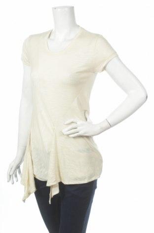 Γυναικεία μπλούζα Bernd Berger, Μέγεθος M, Χρώμα Εκρού, 65% βισκόζη, 35% πολυεστέρας, Τιμή 4,80€