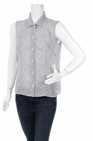 Дамска риза Geoffrey Beene, Размер M, Цвят Сив, 100% полиестер, Цена 4,00лв.