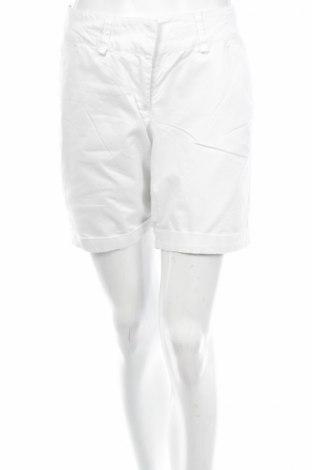 Дамски къс панталон 1982, Размер M, Цвят Бял, 97% памук, 3% еластан, Цена 3,75лв.