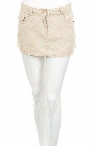 Φούστα Vert De Rage, Μέγεθος S, Χρώμα  Μπέζ, 55% λινό, 45% βαμβάκι, Τιμή 1,59€