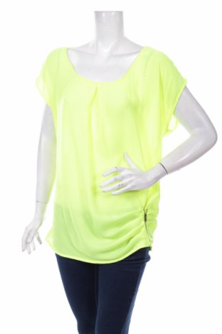 Дамска блуза Anna, Размер L, Цвят Зелен, Полиестер, Цена 5,98лв.