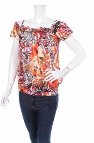 Дамска блуза Gianni Rodini, Размер S, Цвят Многоцветен, Памук, Цена 6,40лв.