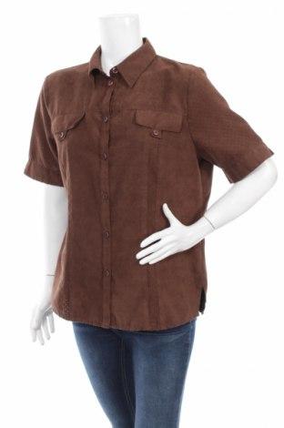 Γυναικείο πουκάμισο, Μέγεθος L, Χρώμα Καφέ, Τιμή 11,86€