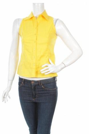 Дамска риза Agraffka, Размер XS, Цвят Жълт, 95% памук, 5% еластан, Цена 9,50лв.