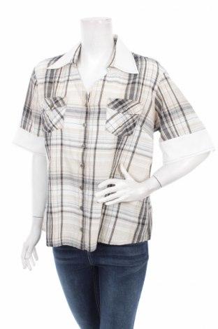 Γυναικείο πουκάμισο Biba, Μέγεθος XL, Χρώμα Πολύχρωμο, Βαμβάκι, ελαστάνη, Τιμή 12,37€