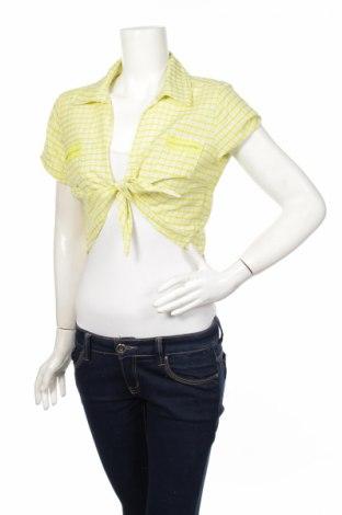 Дамска риза Cache Cache, Размер M, Цвят Зелен, Цена 5,50лв.