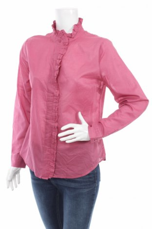 Γυναικείο πουκάμισο New York & Company, Μέγεθος L, Χρώμα Ρόζ , Βαμβάκι, Τιμή 13,66€