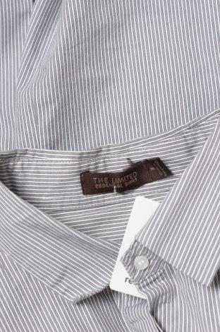 Γυναικείο πουκάμισο The Limited, Μέγεθος M, Χρώμα Γκρί, 64% βαμβάκι, 29% πολυεστέρας, 7% ελαστάνη, Τιμή 15,46€