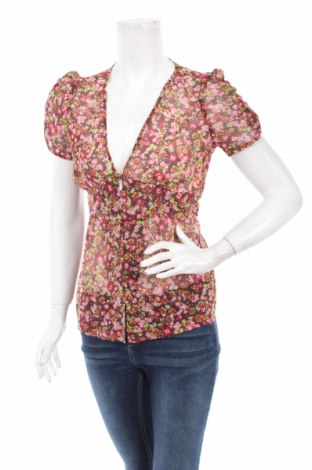 Дамска риза Topshop, Размер M, Цвят Многоцветен, Полиестер, Цена 6,24лв.