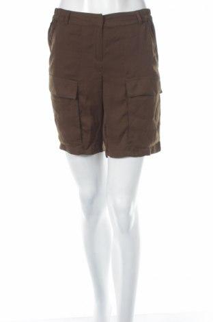 Γυναικείο κοντό παντελόνι Promod, Μέγεθος M, Χρώμα Πράσινο, 100% πολυεστέρας, Τιμή 3,16€