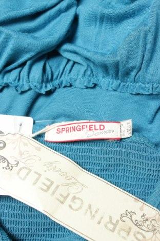 Туника Springfield, Размер M, Цвят Син, Вискоза, Цена 22,26лв.
