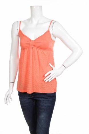 Γυναικείο αμάνικο μπλουζάκι Time Out, Μέγεθος M, Χρώμα Πορτοκαλί, 65% βαμβάκι, 35% πολυεστέρας, Τιμή 9,56€