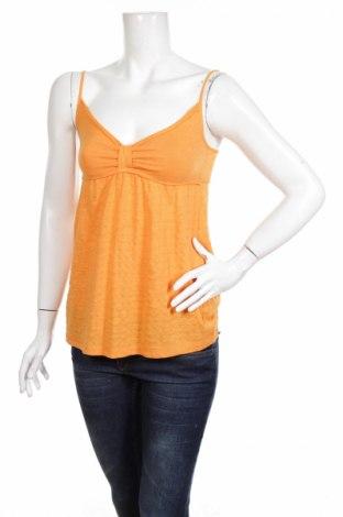 Γυναικείο αμάνικο μπλουζάκι Time Out, Μέγεθος S, Χρώμα Πορτοκαλί, 65% βαμβάκι, 35% πολυεστέρας, Τιμή 8,37€