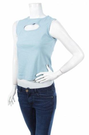 Γυναικείο αμάνικο μπλουζάκι Time Out, Μέγεθος M, Χρώμα Μπλέ, 100% βαμβάκι, Τιμή 7,77€