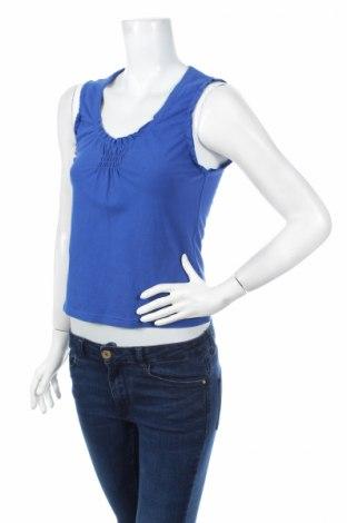 Γυναικείο αμάνικο μπλουζάκι Time Out, Μέγεθος L, Χρώμα Μπλέ, 95% βαμβάκι, 5% ελαστάνη, Τιμή 8,37€