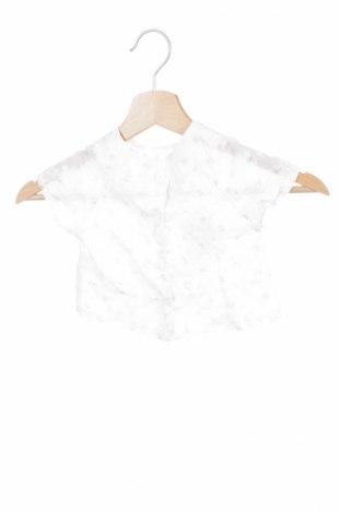 Детска блуза, Размер 2-3m/ 56-62 см, Цвят Бял, Памук, полиестер, Цена 8,40лв.