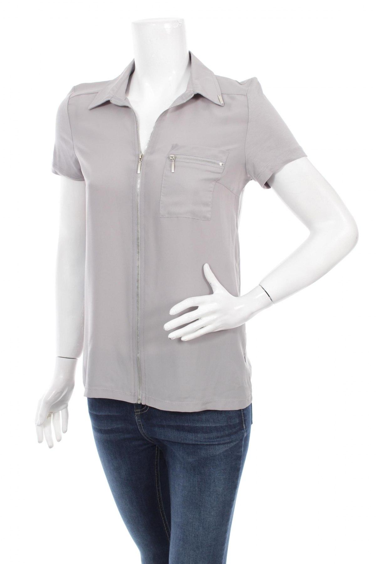 Γυναικείο πουκάμισο Mohito, Μέγεθος S, Χρώμα Γκρί, 100% βισκόζη, Τιμή 13,05€