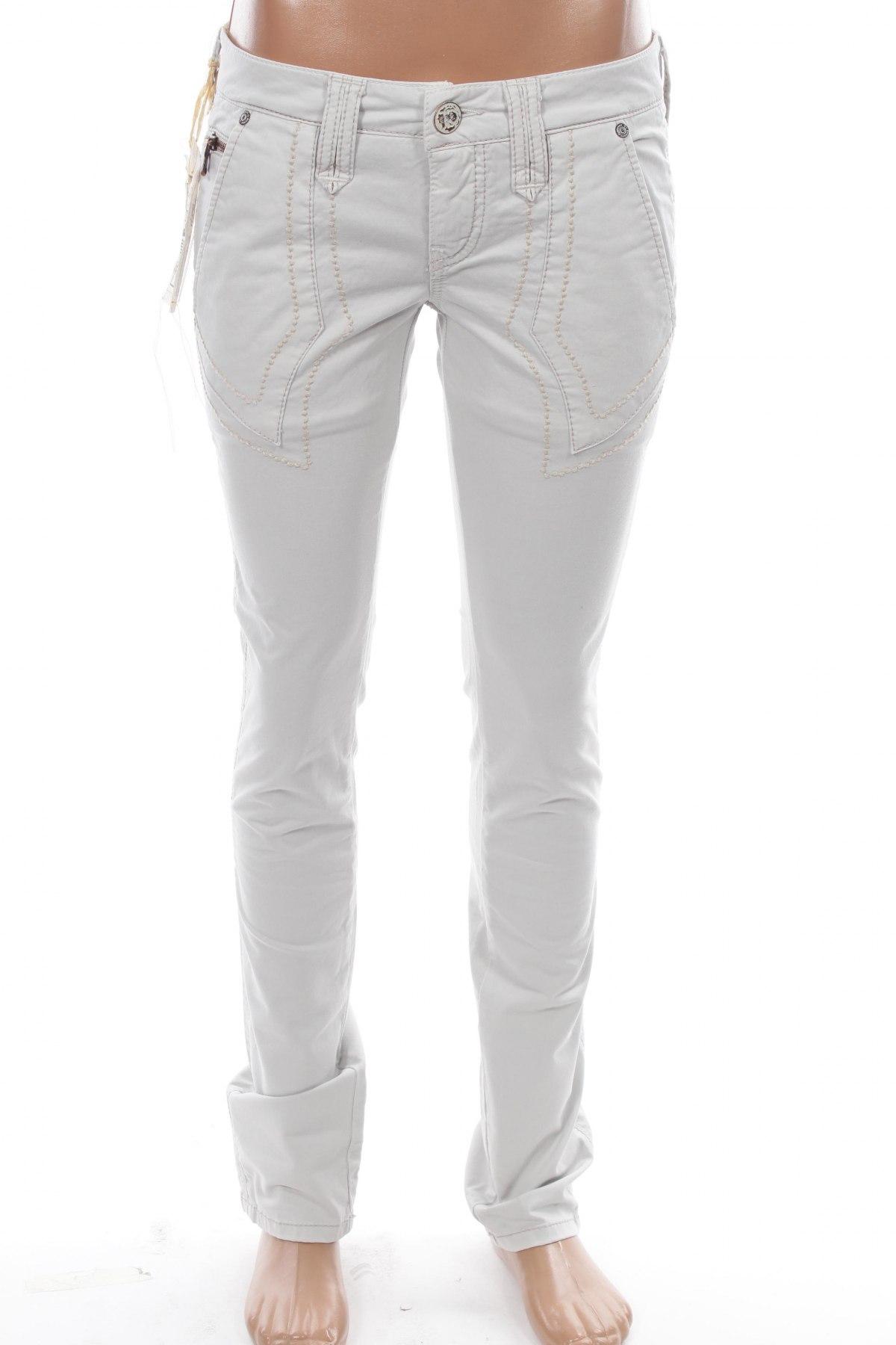 Дамски панталон Bandits Du Monde, Размер S, Цвят Сив, 97% памук, 3% еластан, Цена 19,20лв.