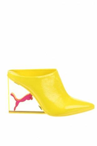 Papuče Fenty Puma by Rihanna, Veľkosť 38, Farba Žltá, Pravá koža , Cena  117,22€