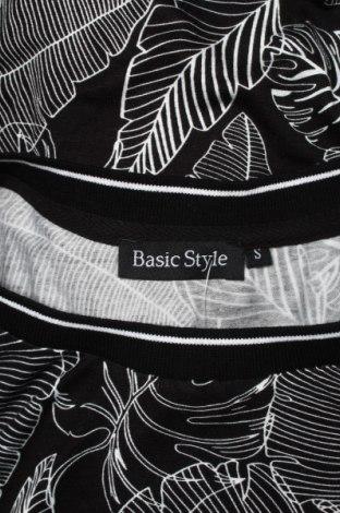 Дамска блуза Basic Style, Размер M, Цвят Черен, 96% вискоза, 4% еластан, Цена 18,00лв.