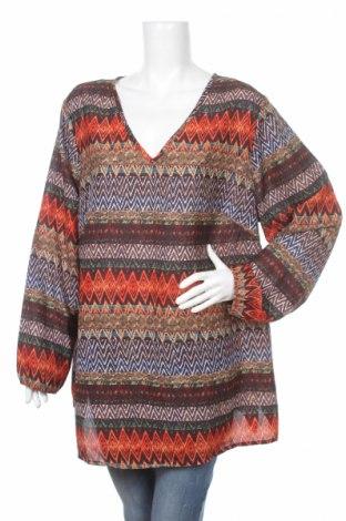 Дамска блуза Bpc Bonprix Collection, Размер 3XL, Цвят Многоцветен, Полиестер, Цена 10,00лв.