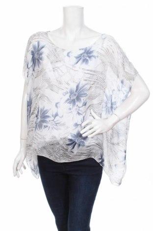 Дамска блуза Made In Italy, Размер L, Цвят Многоцветен, 60% вискоза, 40% коприна, Цена 14,25лв.