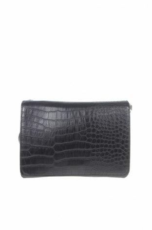 Γυναικεία τσάντα H&M, Χρώμα Μαύρο, Δερματίνη, Τιμή 4,26€