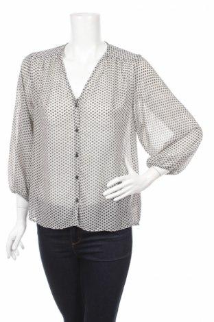 Дамска риза H&M, Размер XS, Цвят Екрю, 100% полиестер, Цена 6,76лв.