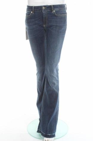 Дамски дънки Dondup, Размер M, Цвят Син, 92% памук, 8% еластан, Цена 83,20лв.