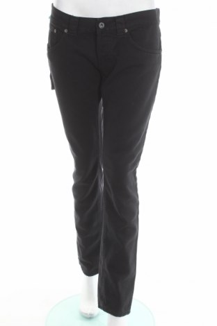 Дамски дънки Dondup, Размер L, Цвят Черен, 100% памук, Цена 76,05лв.