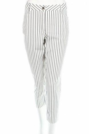 Дамски панталон Madeleine, Размер XL, Цвят Бял, 98% памук, 2% еластан, Цена 39,60лв.
