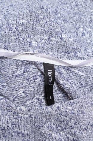 Дамски пуловер Flame, Размер S, Цвят Син, 36% вискоза, 36% акрил, 28% полиестер, Цена 17,00лв.