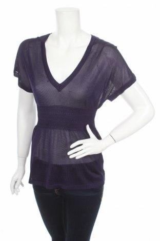 Дамски пуловер H&M, Размер S, Цвят Лилав, 97% вискоза, 3% полиамид, Цена 5,45лв.