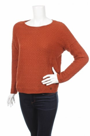 Дамски пуловер Pedro Del Hierro, Размер S, Цвят Кафяв, 52% памук, 48% полиестер, Цена 13,00лв.