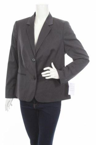 Дамско сако, Размер L, Цвят Сив, 48% полиестер, 29% други нишки, 23% вискоза, Цена 7,28лв.