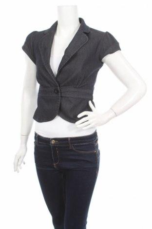 Дамско сако H&M, Размер S, Цвят Син, 78% памук, 21% полиестер, 1% еластан, Цена 6,26лв.