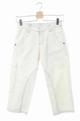 Παιδικό παντελόνι Ikks, Μέγεθος 11-12y/ 152-158 εκ., Χρώμα Εκρού, 100% βαμβάκι, Τιμή 23,87€