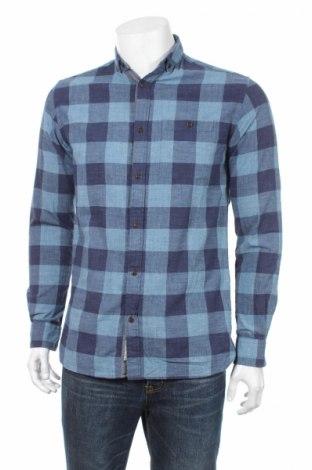 Мъжка риза Premium By Jack & Jones, Размер S, Цвят Сив, Памук, Цена 8,00лв.