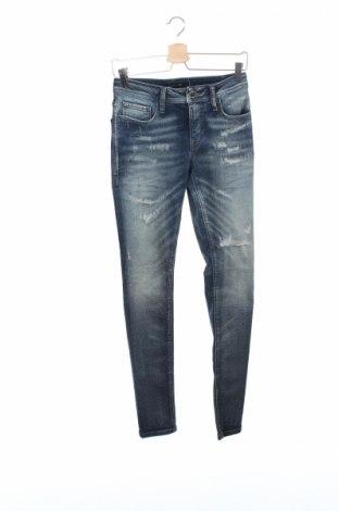 Мъжки дънки Antony Morato, Размер XS, Цвят Син, 99% памук, 1% еластан, Цена 87,10лв.