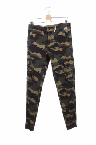 Мъжки дънки Franklin & Marshall, Размер M, Цвят Многоцветен, 98% памук, 2% еластан, Цена 91,65лв.