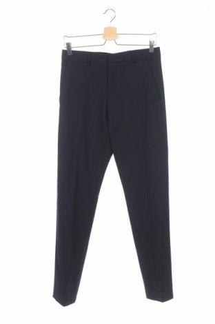 Pantaloni de bărbați Selected Homme, Mărime S, Culoare Albastru, 53% poliester, 43% lână, 4% elastan, Preț 63,71 Lei