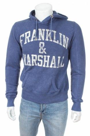 Мъжки суичър Franklin & Marshall, Размер XS, Цвят Син, 100% памук, Цена 48,75лв.