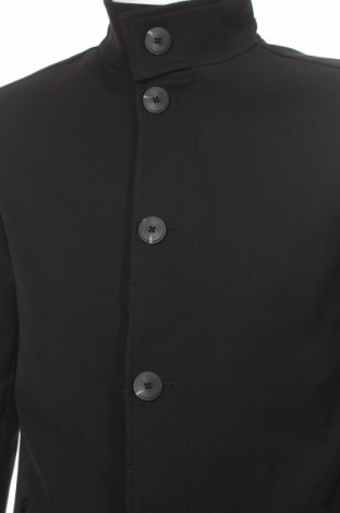 Мъжко палто Mc Neal, Размер M, Цвят Черен, 97% полиестер, 3% еластан, Цена 91,65лв.
