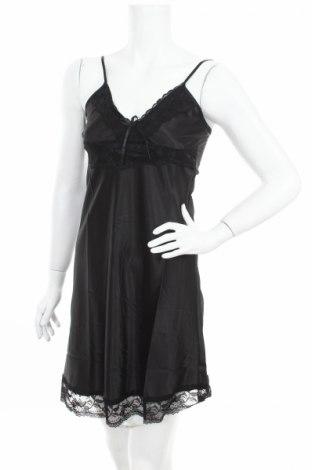 Пижама Just For Victoria, Размер S, Цвят Черен, 97% полиестер, 3% еластан, Цена 37,05лв.