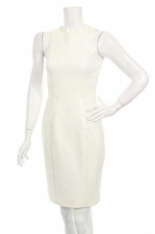 Рокля H&M, Размер S, Цвят Бял, 70% полиестер, 28% вискоза, 2% еластан, Цена 15,47лв.