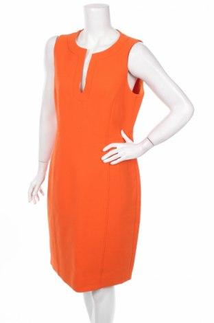 Рокля Strenesse Gabriele Strehle, Размер L, Цвят Оранжев, Вълна, Цена 47,30лв.